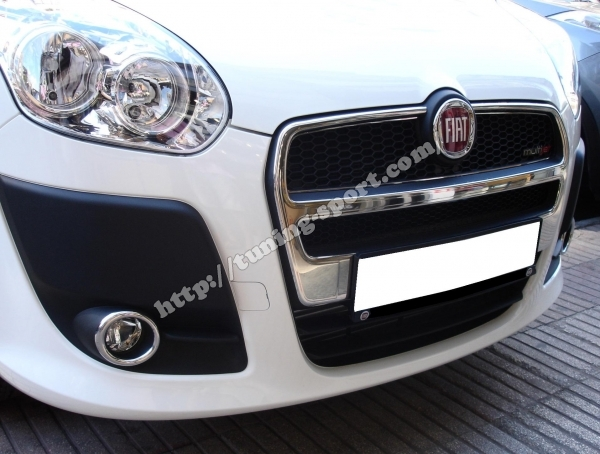 Chrom grill for Fiat Doblo Panorama | tuning-sport com