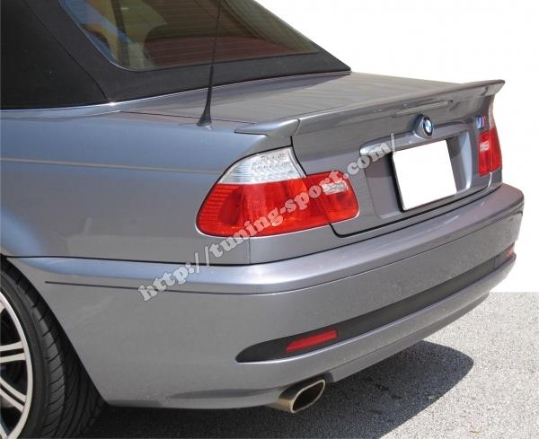 Trunk Spoiler For Bmw E46 Coupe Cabriolet Tuning Sportcom