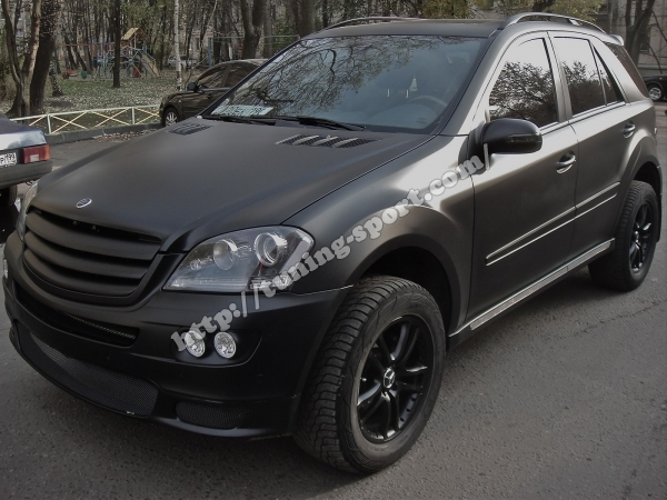foil 3m black matt mercedes ml w164 | tuning-sport