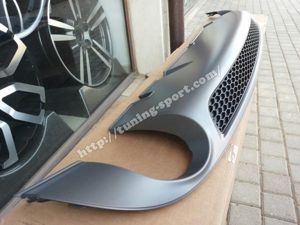 diffuser rear s-line for audi a6 4f c6 sedan + avant art