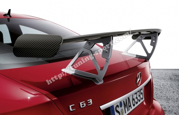 Trunk spoiler CARBON Mercedes C63 AMG Black Series art
