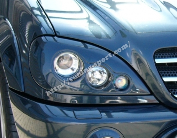 Mercedes Ml Bi Xenon Headlights