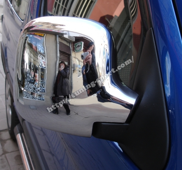 Chrome Mirror Cover For Peugeot Partner Citroen Berlingo