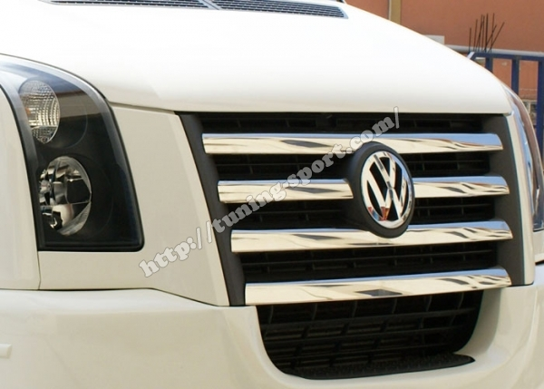 Chrome For Grill Vw Crafter Tuning Sport Com