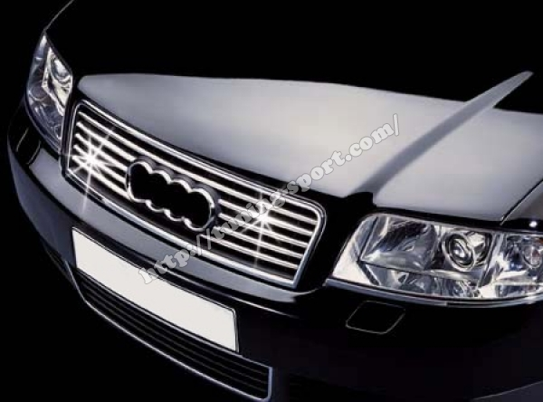 Chrome grill for audi a6 c5 in pro tuning sport com