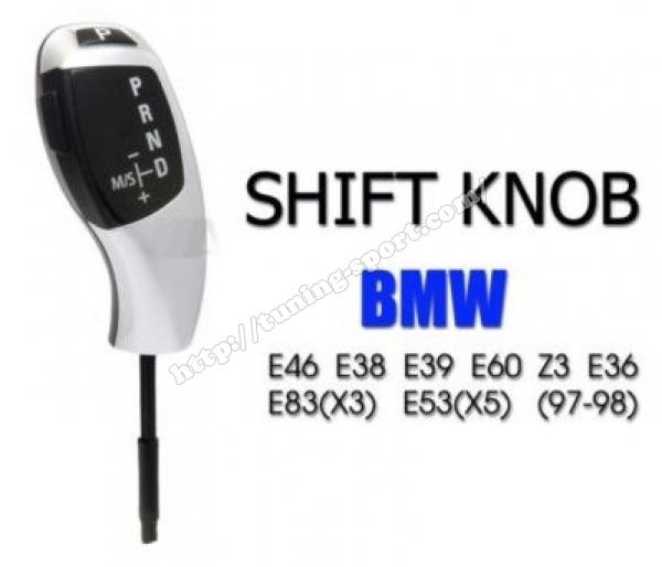 Shift Knob Style Bmw Automatik Transmision For Bmw E46 E38 E39 E60 E61 E83 X3 E53 X5 Z3 E36
