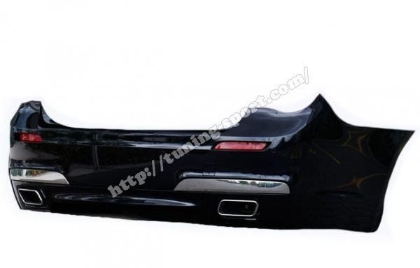 Rear Bumper M Power For Bmw 7 Seria Bmw F01 F02 Set