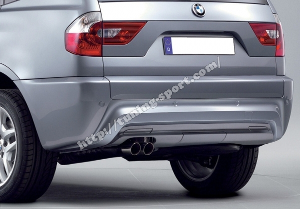 rear bumper m paket for bmw x3 m e83 tuning. Black Bedroom Furniture Sets. Home Design Ideas