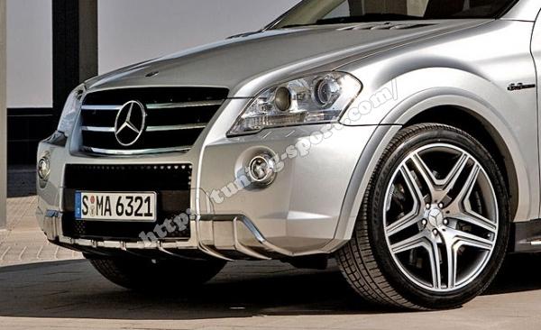 Ml W164 Front Bumper Amg B66036493 B66036490 B66036492