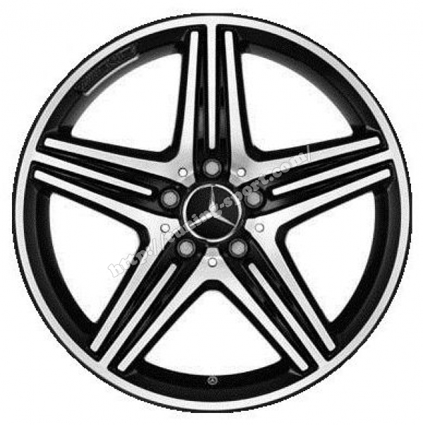 Alloy Wheels 18 Amg For Mercedes A Class W176 Cla C117
