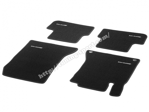 floor mats set amg for mercedes a class w176 b class w246. Black Bedroom Furniture Sets. Home Design Ideas